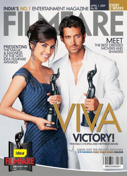 Ganadores de los Filmfare 2009 Filmfare
