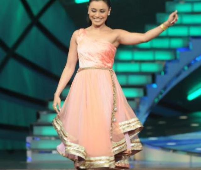 By Now Youve Seen The Dance Premiere League With Rani As A Judge Host She Has Been Seen Wearing A Plethora Of Manish Malhotra Creations Most Of Which